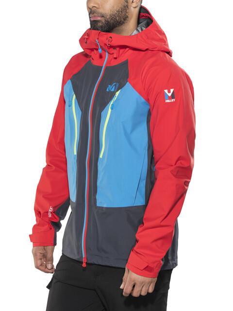 Millet Trilogy V Icon Dual GTX Pro Jacket Men saphir/rouge